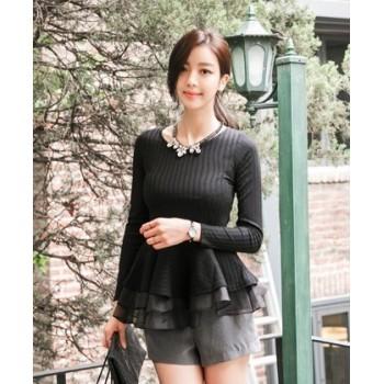 blouse-knitted-warna-hitam-80835-kode-RJ-CY50685-HITAM