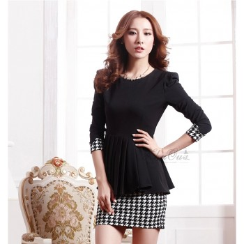 dress-thick-cotton-warna-hitam-71291-kode-RJ-XY61060-HITAM