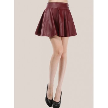 skirt-pu-leather-warna-merah-49598-kode-RJ-JY771232-MERAH