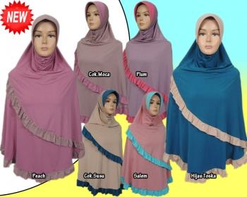 Jilbab Bergo Renda Terbaru Bedjo29 Shop
