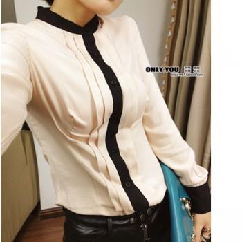 blouse-chiffon-warna-apricot-22632-kode-RJ-XY61162-APRICOT
