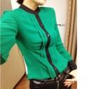 blouse-chiffon-warna-hijau-21393-kode-RJ-XY61162-HIJAU